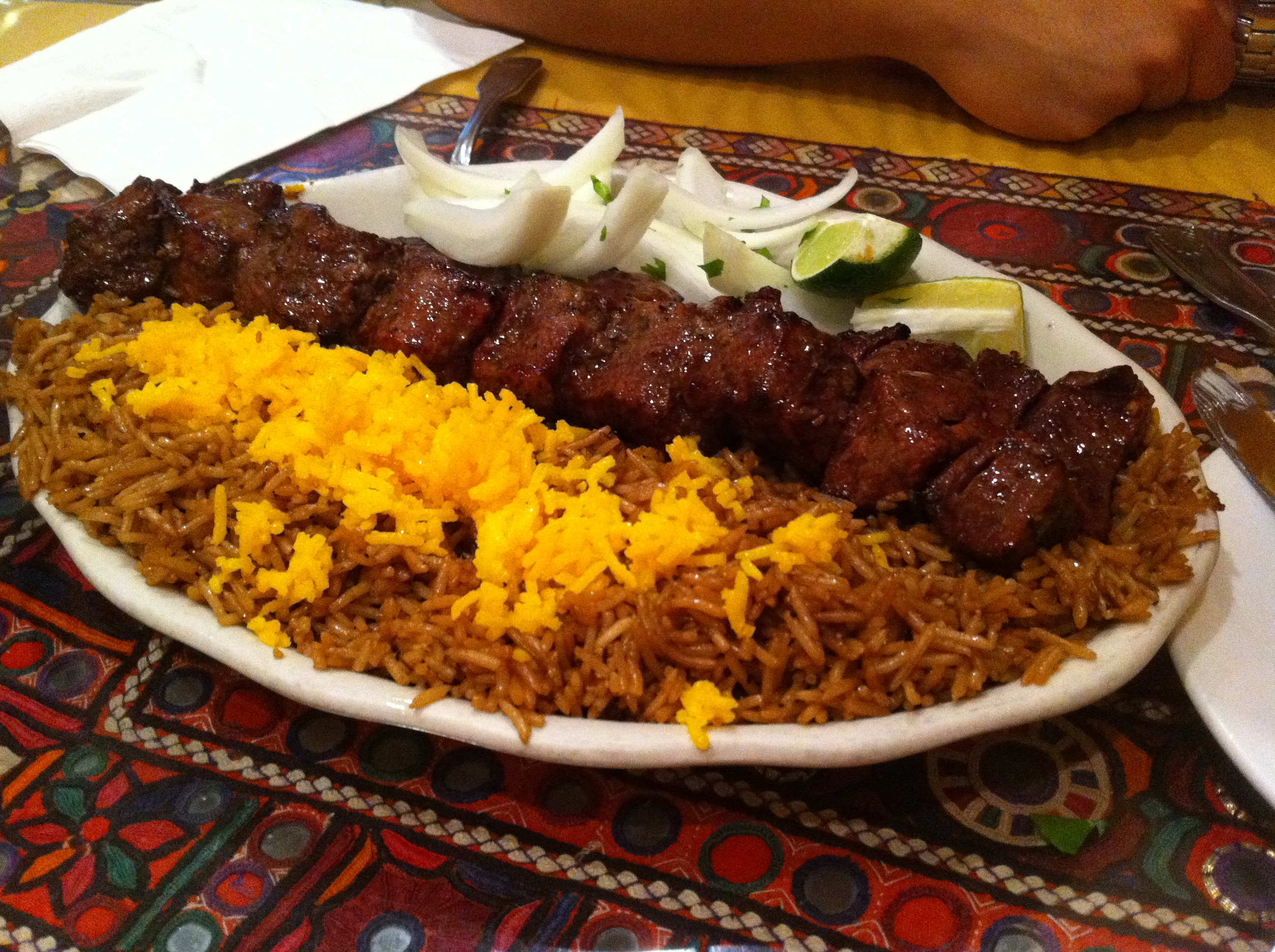 Kabul kabab house fantastic afghan food in flushing ny for Afghanistan cuisine