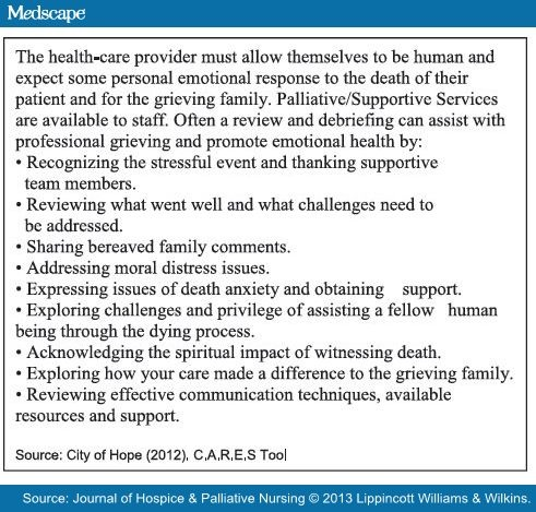 CARES: How to Care for the Dying
