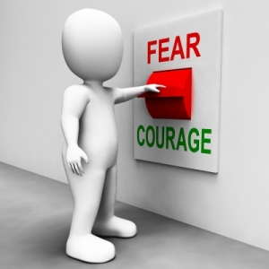 fear vs courage
