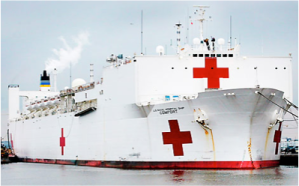 USNS Comfort Navy Hospital Ship